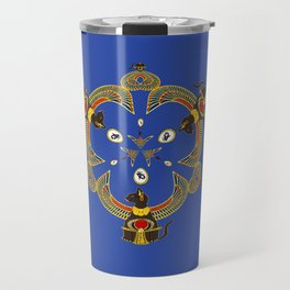 Bast's Loving Triad Travel Mug