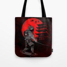Skater Samurai Tote Bag