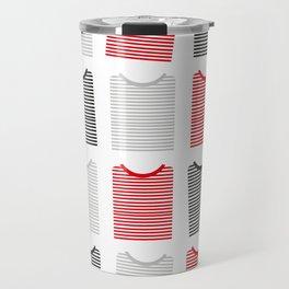 Striped Tee's Travel Mug