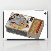 shit iPad Cases featuring Burn Shit. by NVM Illustration