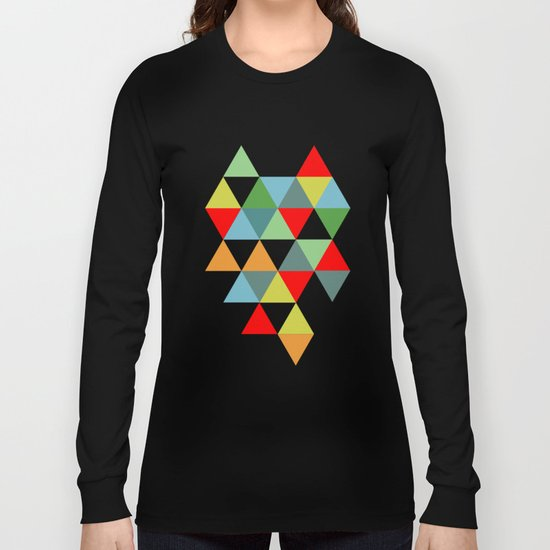 Abstract #593 Long Sleeve T-shirt