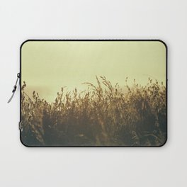 Cornish Summer Sunset over Mawgan Porth Beach, Cornwall Laptop Sleeve