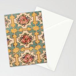 Iranian tiles Stationery Cards