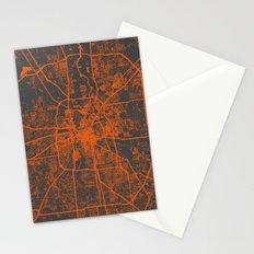 Houston map Stationery Cards