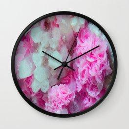 Desert Love Rose | Merry Crystals Wall Clock
