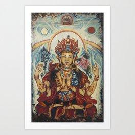 Chenrezig  Art Print