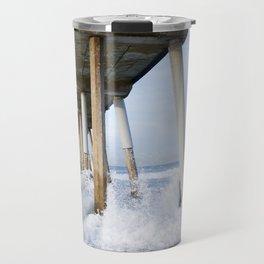 Hermosa Beach Pier Travel Mug