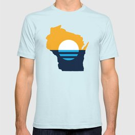 Wisconsin - People's Flag of Milwaukee T-shirt