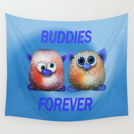 Buddies forever Wall Tapestry