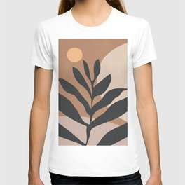 Tropical Leaf- Abstract Art 2 T-shirt