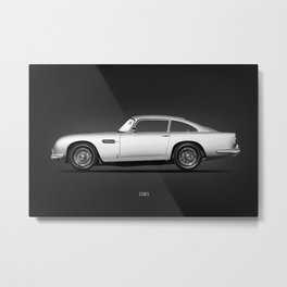 The 1964 DB5 Metal Print