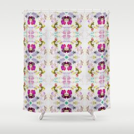 Back to Joy (Abstract Painting) Shower Curtain