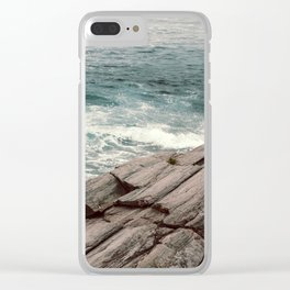 Until The End Clear iPhone Case