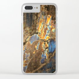 Labradorite Clear iPhone Case