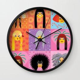CHERry Christmas Wall Clock
