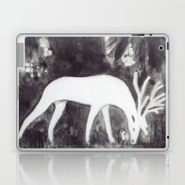 White Deer Laptop & iPad Skin