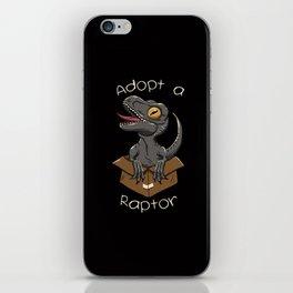 Adopt a Raptor iPhone Skin