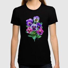 Bouquet of violets I T-shirt