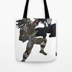 Predator vs Venom Tote Bag