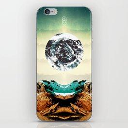 Orbital Sea iPhone Skin