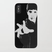 merlin iPhone & iPod Cases featuring Merlin by Elyzewin