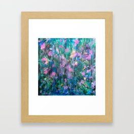 """FAIRY DREAMS"" Original Painting by Cyd Rust Framed Art Print"