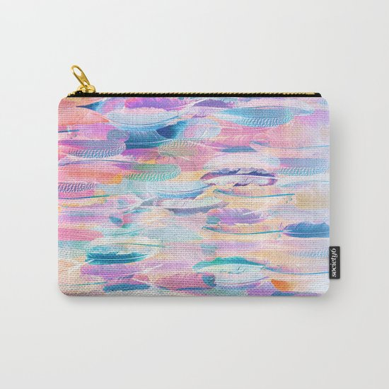 Candy Feathers  Carry-All Pouch