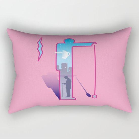 Dimension ~ Sign / Yo-yo Rectangular Pillow
