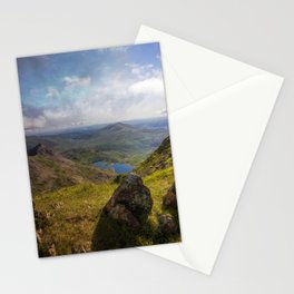 View From Snowdon Summit Stationery Cards