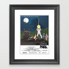 Jurassic Wars Framed Art Print
