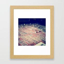 Tiny Cities #2 Framed Art Print