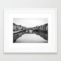 florence Framed Art Prints featuring FLORENCE by Sara_photographer