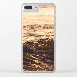Atlantic Ocean Waves 4181 Clear iPhone Case