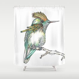 The Tufted Coquette Shower Curtain