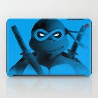 leonardo dicaprio iPad Cases featuring Leonardo Forever by Ian Wilding