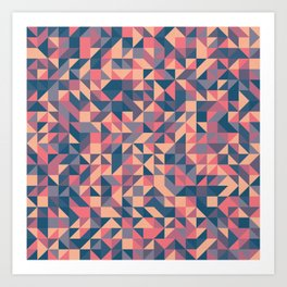 Triangles III Art Print