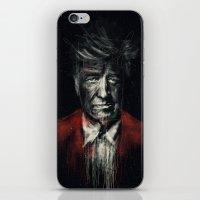 david lynch iPhone & iPod Skins featuring David Lynch by Rafal Rola