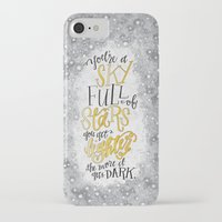 coldplay iPhone & iPod Cases featuring A Sky Full Of Stars [Coldplay] by Jillian Kaye