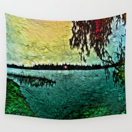 :: Lake View :: Wall Tapestry