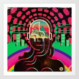 Gaia's Dome Art Print