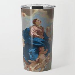 Poussin -the assumption of the virgin Travel Mug