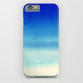 Sky Watercolor Texture Abstract 710 iPhone Case