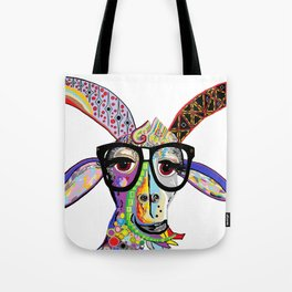 Hipster Goat Tote Bag