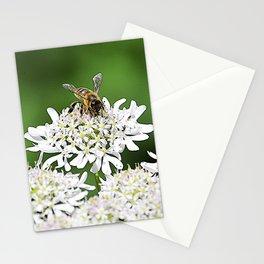 Be(e) happy  Stationery Cards