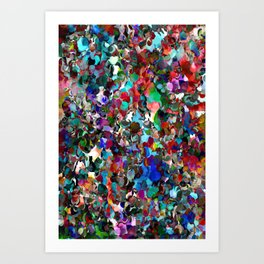 Red Dot Party Art Print