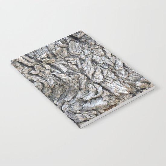 TEXTURES -- Blue Elderberry Bark Notebook