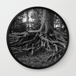 Putting Down Roots Wall Clock