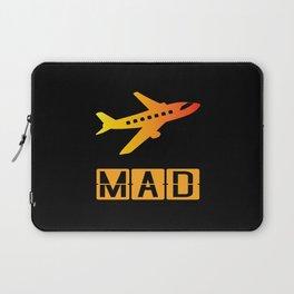 Madrid-Barajas Adolfo Suárez Airport MAD Laptop Sleeve