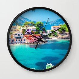 Kefalonia Island, Greece Wall Clock
