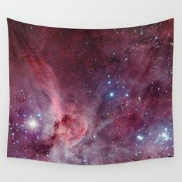 Carina Nebula of the Milky Way Galaxy Wall Tapestry